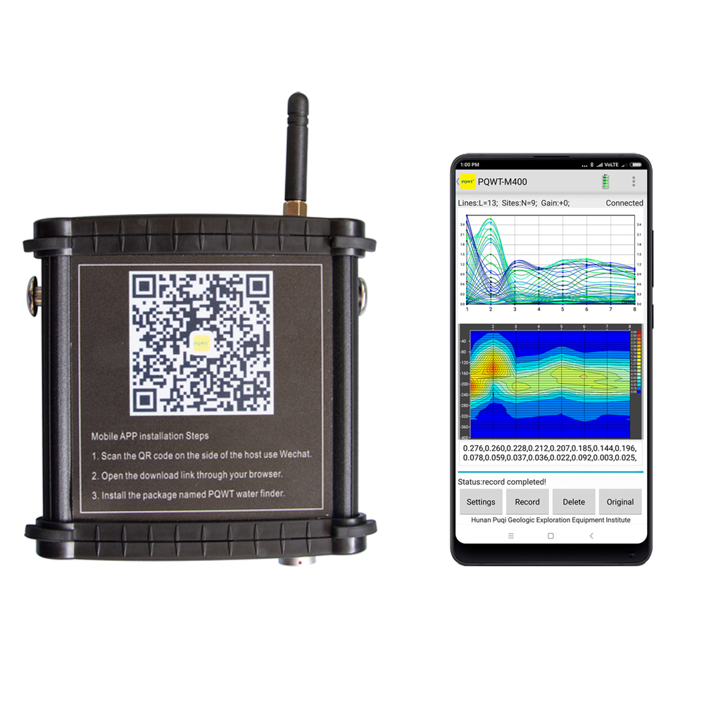 PQWT-M400.400M Mobile Water Detector